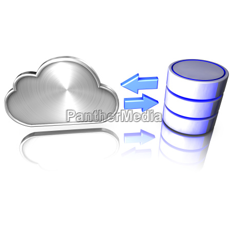 database access through cloud computing