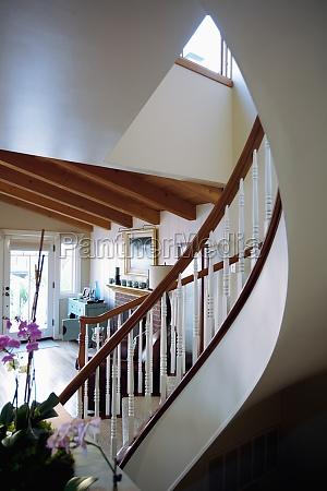 treppe treppen haus gebaeude architektonisch holz