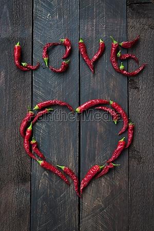 red chili pepper love