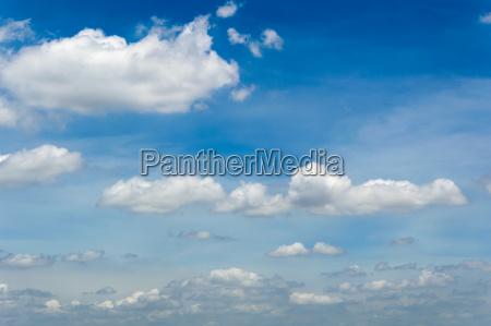 background cloud in blue sky