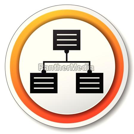 analytics orange icon