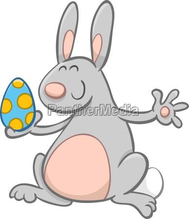 easter bunny cartoon character