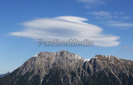 austria salzburg state pongau foehn cloud