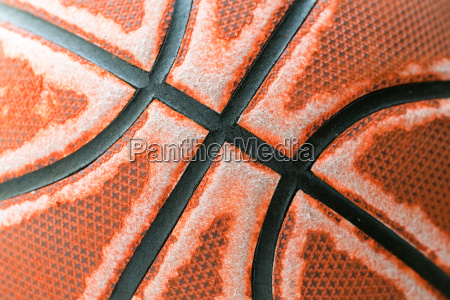 old basketball texture