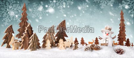 wood decorationbackground with snow designideal for