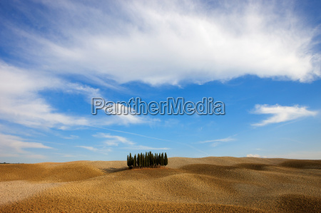 orcia valley in autumn