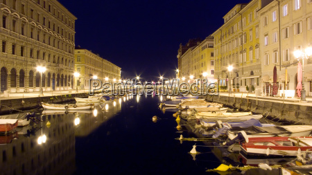 canal trieste italy