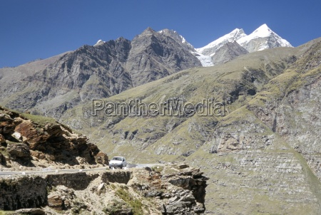 rothang pass into chenab valley on