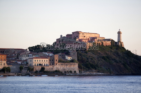 the light house of portoferraio elba