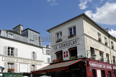 france paris 18th arrondissement montmartre view