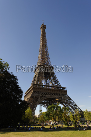 france paris 7th arrondissement view to