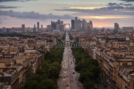 france paris la defense and cityscape