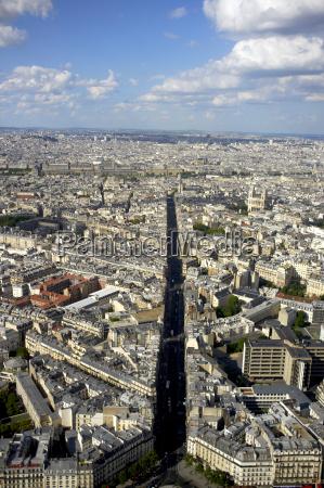france paris view of cityscape