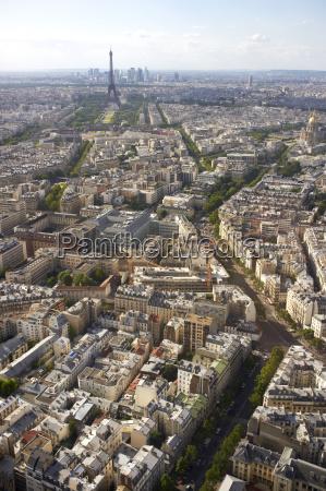 france paris view of city