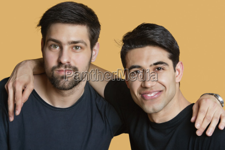portrait of a young male friends
