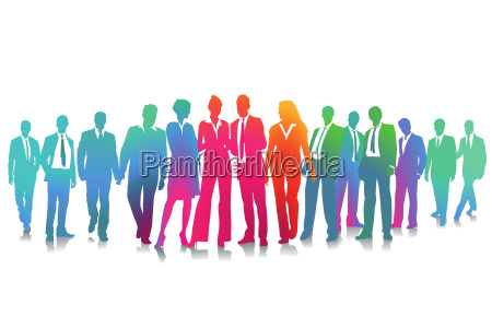 business and employee collectionillustration