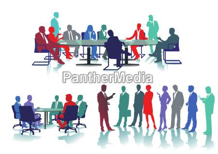 business conferenceseminarillustration