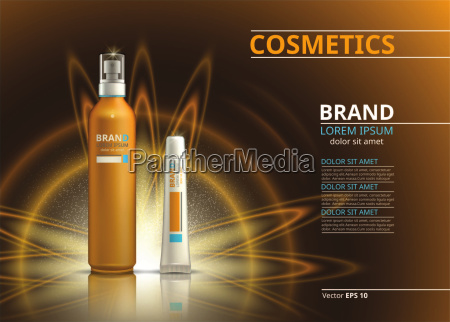 sun protection realistic product design cosmetic