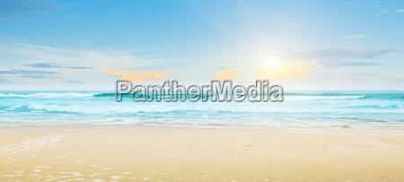 tropical beach summer landscape