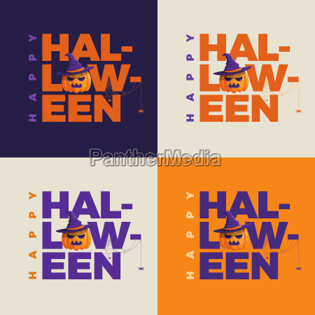 vector halloween design