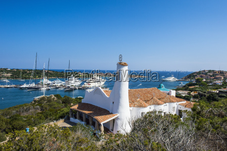the bay of porto cervo costa