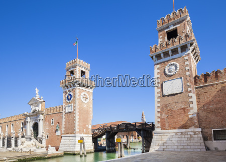 porta magna at the venetian arsenal