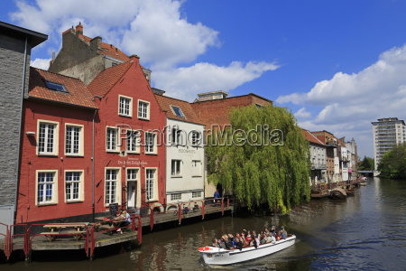 restaurant on leie river ghent east