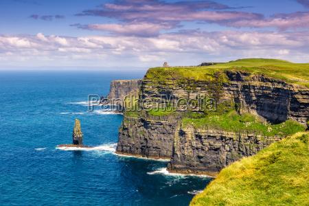 cliffs of moher cliffs ireland travel