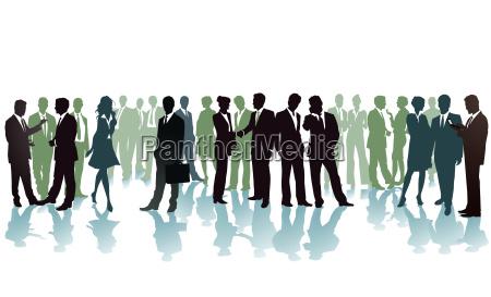 gatheringbusiness conferenceillustration