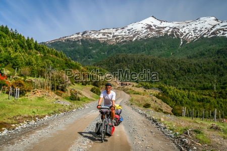 cycle touring in patagonia