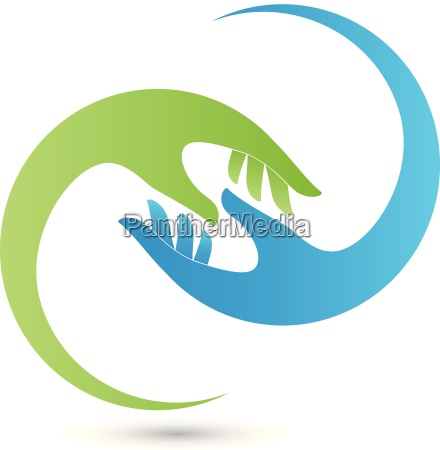handsphysiotherapyalternative practitionerhelperlogo