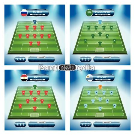 soccer team player plan group a