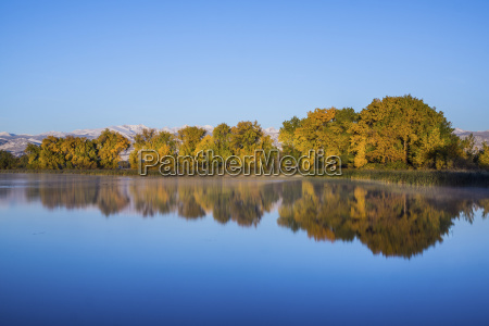 scenic view of calm lake by