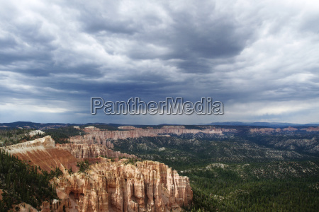 scenic view of bryce canyon national
