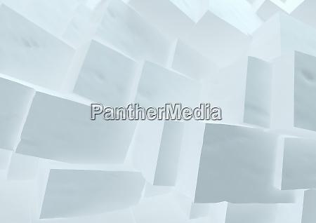 abstract three dimensional building blocks