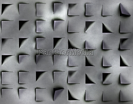 abstract pattern of shadows and square