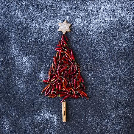 chili christmas tree